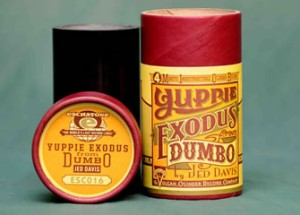 Bespoke phonograph cylinder and box yuppie